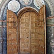 Hand-painted Gate Art Print