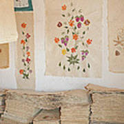handmade paper from Madagascar 1 Art Print