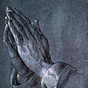 Hands Of An Apostle 1508 Art Print by Philip Ralley