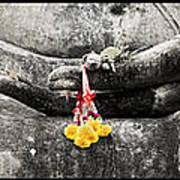 Hands Of Buddha Art Print