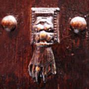 Handy Door Knocker Art Print