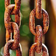Hanging Chain Art Print