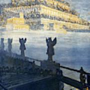 Hanging Gardens Of Babylon Art Print