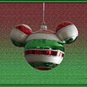 Hanging Mickey Ears 02 Art Print