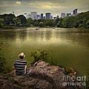 Hanging Out In Central Park Art Print
