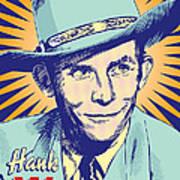 Hank Williams Pop Art Art Print by Jim Zahniser