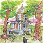 Hannah's House Art Print