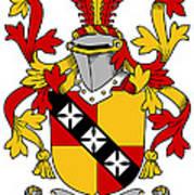 Hannon Coat Of Arms Irish Art Print