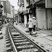 Hanoi Lifestyle Art Print