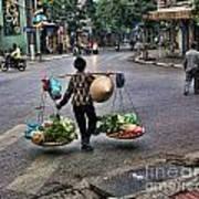 Hanoi Street Life II Art Print