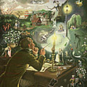 Hans Christian Andersen Art Print