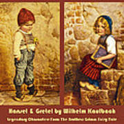 Hansel And Gretel Brothers Grimm Art Print