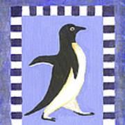 Hanukkah Penguin Two Art Print