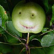Happy Apple Art Print