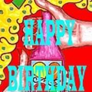 Happy Birthday 1 Art Print