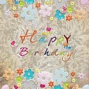 Happy Birthday 2 Art Print