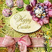 Happy Easter 2 Art Print