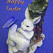 Happy Easter Card 3 Art Print