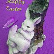 Happy Easter Card 4 Art Print