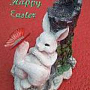 Happy Easter Card 5 Art Print