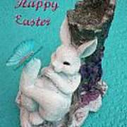Happy Easter Card 6 Art Print