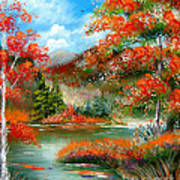 Happy Ever After Autumn  Art Print
