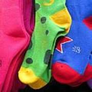 Wear Loud Socks Art Print