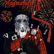Happy Hogmanay Art Print
