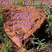Happy Holidays 2014 Art Print