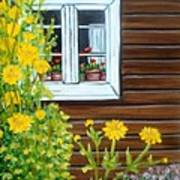 Happy Homestead Art Print