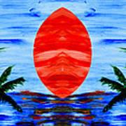 Happy Island Art Print