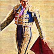 Happy Matadora Art Print