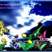 Happy Seeds Inspiration Art Print