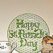 Happy St Patrick's Day  Art Print