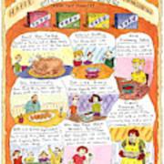 Happy Surrogate Thanksgiving Art Print