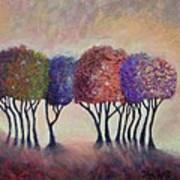 Happy Trees To You Art Print
