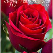 Happy Valentine's Day # 9 Art Print