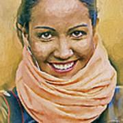 Happy Woman Art Print