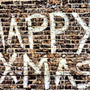 Happy Xmas Art Print