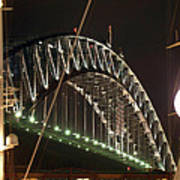 Harbor Bridge Art Print