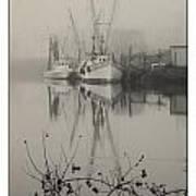 Harbor Fog No.4 Art Print