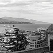 Harbor Lookout - Monte Carlo Art Print
