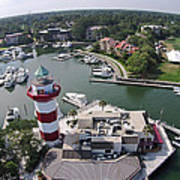 Harbor Town 1 In Hilton Head Art Print