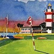 Harbour Town 18th Sc Art Print