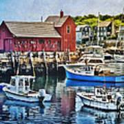 Harbor View Art Print