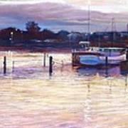 Harbour Lights - Apollo Bay Art Print