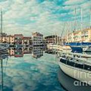Harbour Of Grado Art Print