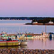 Harbour Sunset Art Print