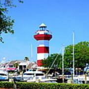 Harbour Town Lighthouse Art Print