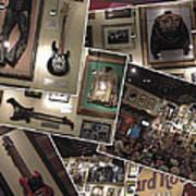 Hard Rock Cafe Hollywood Florida Art Print